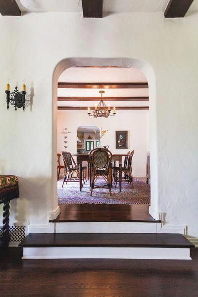 A Peek Into Spanish Style Dining Room Spanishstyle