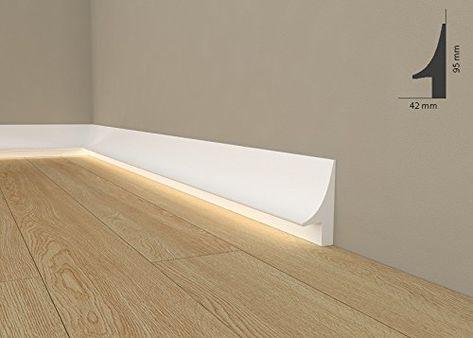 Licht Fußleiste  - haus mit indirekter beleuchtung bilder
