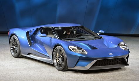 New Ford GT at 2015 Detroit Auto Show