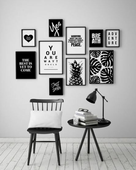 Super Wall Art Black And White Diy 22 Ideas Wall Art Decor Living Room Wall Decor Living Room Decor
