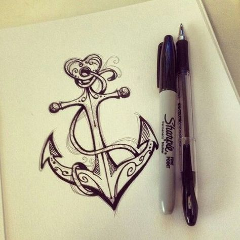 ↓love this anchor design,  #anchor #design #love, Tattoo Models #trends