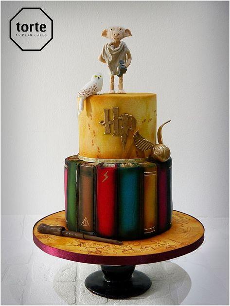 Harry Potter Geburtstagstorte Geburtstag Kuchen Maraudersmap