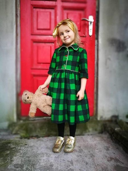Mix in some flannels - 26 Super Festive Christmas Outfits for Kids  - Photos