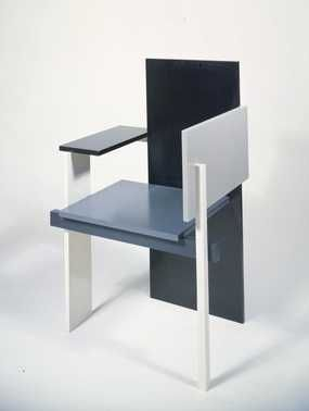 Gerrit Thomas Rietveld Was A Pivotal Early Modernist Designer. The Way This  Chairs Is Reduced To Simple, Rectangular, And Each Monochromatic Shapes Is  ...