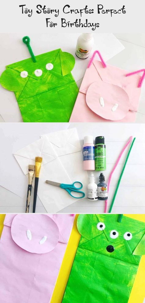 This is a super fun Toy Story crafts tutorial which is perfect for the release of the Toy Story 4 movie or as a Toy Story birthday party craft idea. #toystory #disney #craftsforkids #crafts #Cutetoys #Creativetoys #Plushtoys #Kawaiitoys #Handmadetoys