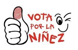 """""""Vota por la niñez"""". Campaña hecha por un colectivo de Lima para """"posicionar en la agenda electoral la protección y promoción de los derechos de la niñez y la adolescencia"""".  http://inversionenlainfancia.net/blog/entrada/noticia/2307/0"""