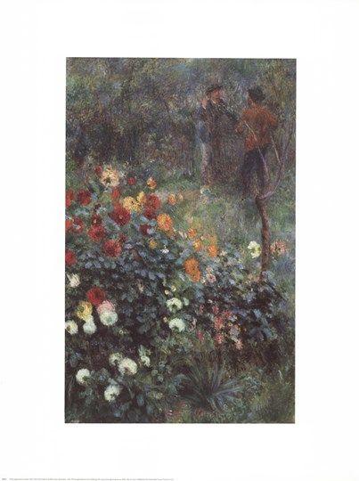 The Garden In The Rue Corot By Pierre Auguste Renoir Pierre Auguste Renoir Renoir Pierre
