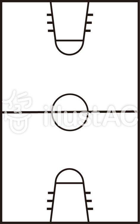 ミニバスケットボールコート バスケットボール コート バスケットボール イラスト