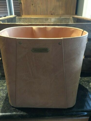 Hearth Hand By Magnolia Faux Leather Storage Bin Nwt Hard To Find Item Ebay Storage Bin Hearth Metal Storage Bins