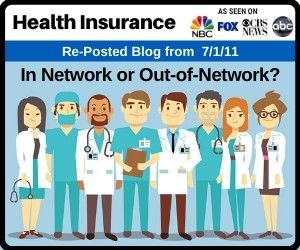 Health Insurance In Network Or Out Of Network Health Insurance
