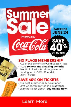 Save On Season Passes And Check Out Our New Membership Program Tap The Banner For Full Details Six Flags Great Adventure Los Angles Greatest Adventure