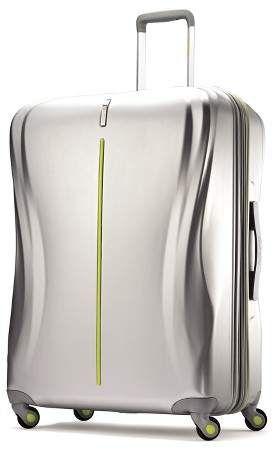 American Tourister Avatar 28 Hardside Luggage Silver Spinner Suitcase Hardside Luggage American Tourister