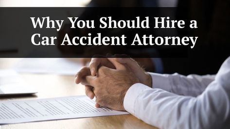 """If you have been involved in a car accident, the question ultimately is raised, """"Should I hire a car accident attorney"""". The answer to this question is a resounding """"Yes."""" The very basic premise behind this answer involves protecting your legal rights and the legal rights of your loved ones when you or someone you love has been involved in a car accident."""