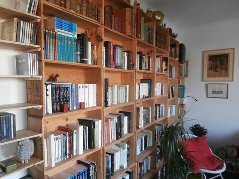 La Bibliotheque En Caisses De Vin D Elisa Bibliotheque En Caisse