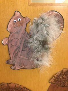 Squirrel Craft (from Preschool Wonders)