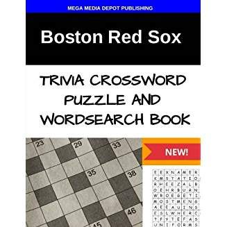 Boston Red Sox Trivia Crossword Puzzle And Word Search Book Football Trivia Puzzle Books Trivia