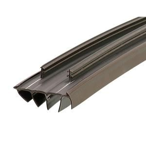 M D Building Products 1 3 4 In X 36 In Mill Vinyl Weatherstrip Door Bottom 68593 The Home Depot Door Weather Stripping Replace Door Door Sweeps