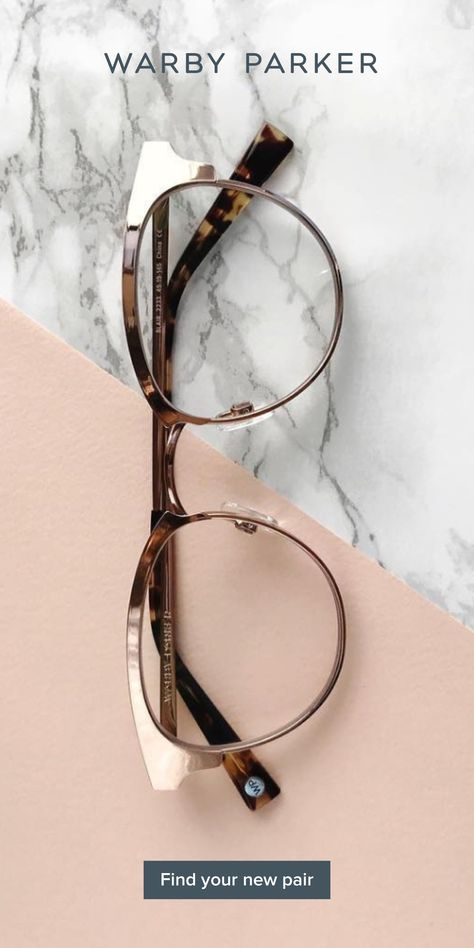 Looking for new glasses? Answer a few quick questions and we'll suggest some great-looking frames for you to try at home for free! This frame is Blair in Rose Gold. If you like Fashion Checkout our Roku Channel! Cute Jewelry, Jewelry Accessories, Cute Glasses Frames, Or Rose, Rose Gold, Fashion Eye Glasses, New Glasses, Womens Glasses, Gianni Versace