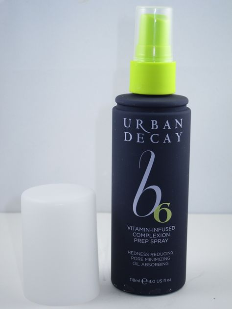 Urban Decay B6 Vitamin Infused Complexion Prep Spray -I just got this, I love how it feels. Ive only used it straight up, no make-up after. we'll see-