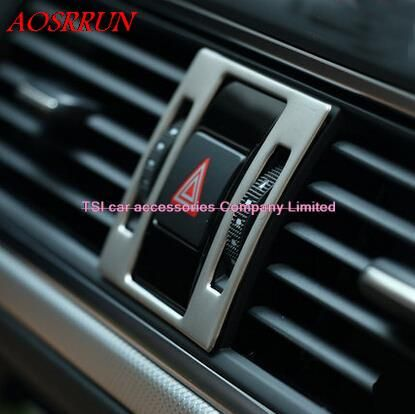 Safety warning lights car special modified stainless steel