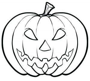 Dovleac De Colorat Planse De Colorat Usoare Pumpkin Coloring