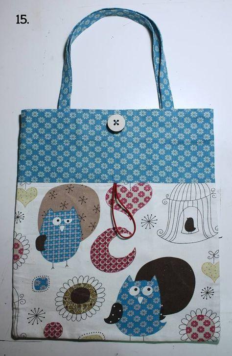 stile limitato trova fattura seleziona per autentico Shopper ripiegabile da portare in borsa – Tutorial (Cucito ...