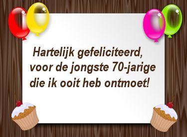 Leuke Plaatjes Voor 70ste Verjaardag Verjaardagswensen Happy