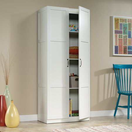 Home With Images White Storage Cabinets Tall Cabinet Storage White Storage