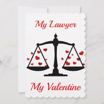Happy Valentines Day My Lawyer Holiday Card Zazzle Com Happy Valentines Day Card Valentines Day Card Funny Holiday Design Card