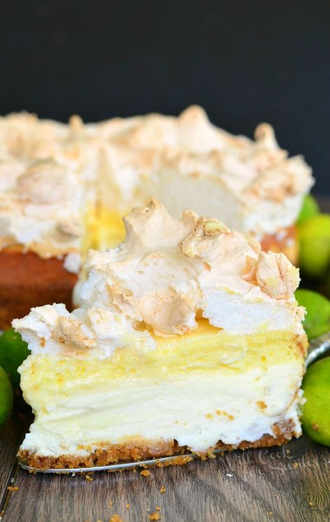 Key Lime Pie Cheesecake by Will Cook For Smiles