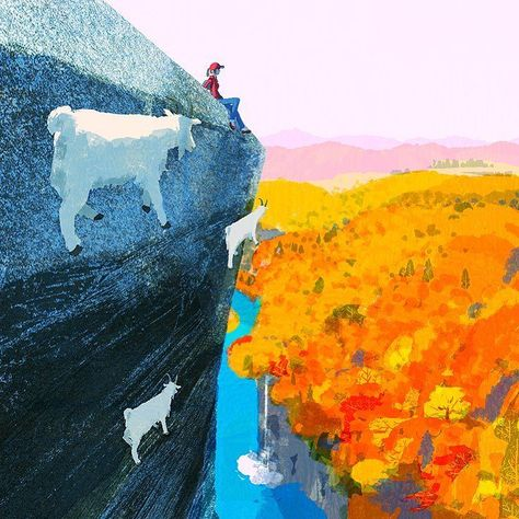 #illustration #painting #tatsurokiuchi #art #drawing #life #lifestyle #happy #japan #people #木内達朗 #イラスト #イラストレーション #autumn #autumnleaves