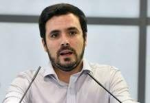 Alberto Garzón adelanta que IU registrará mañana que Moreno Bonilla declare en la Audiencia Nacional en la investigación de los 'Papeles de Bárcenas'