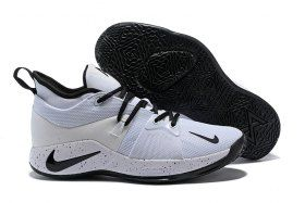 new concept d5580 a38da Various Styles Nike PG 2 EP White Black Men's Basketball ...