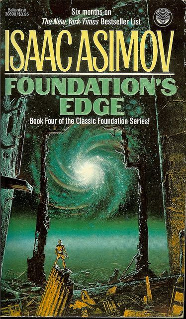 Isaac Asimov  Foundation's Edge  Believing that something stronger than the Foundation is manipulating events, Councilman Golan Trevize and Professor Janov Pelorat are sent out to search for the secretive Second Foundation and also Earth.