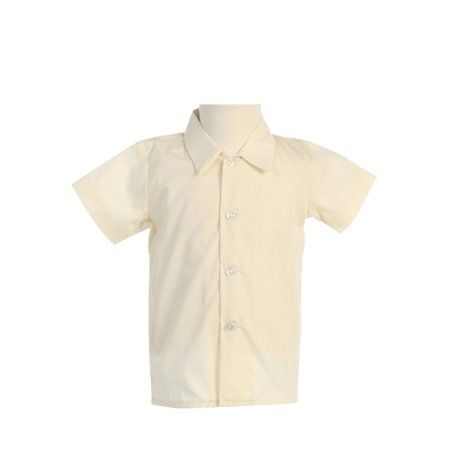Lito Baby-Boys Short Sleeved Dress Shirt