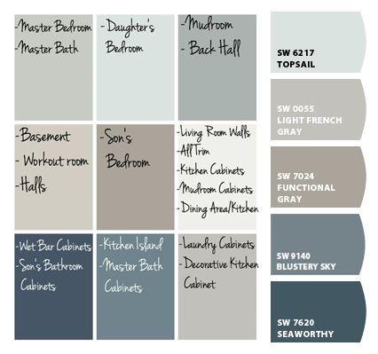 Aqua Sphere Mykinglist Com House Color Palettes Paint Colors For Home Farmhouse Paint Colors