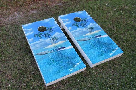 Cornhole board dimension | cheap cornhole boards | painted cornhole game