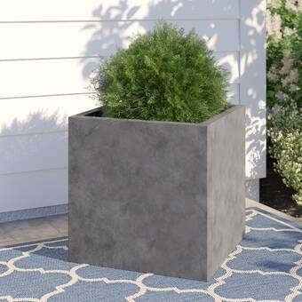 Basic Fiberstone Planter Box In 2020 Planters Planter Boxes Planter Pots