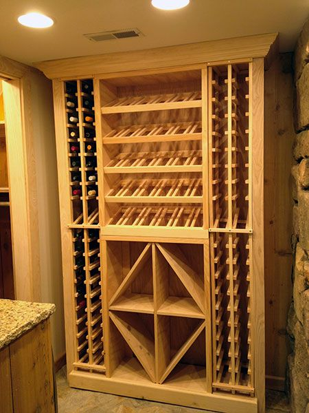 Wine Storage Ideas For Small Spaces Converting Small Spaces Wine Storage Diy Wine Cellar Design Home Wine Cellars