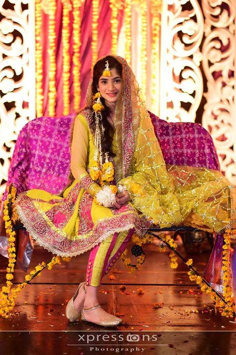 pakistan bridal dress mayoon
