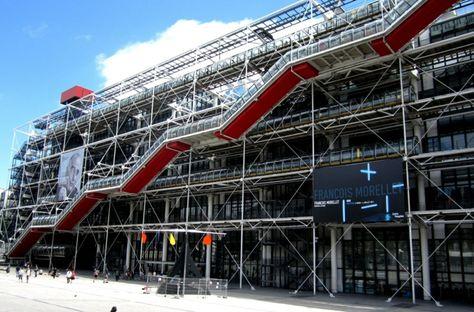 Museo Pompidou.Musees D Art Moderne Et Contemporain A Visiter En France Batiment