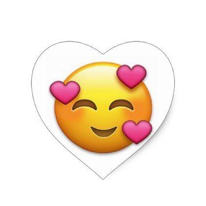 Happy Hearts Emoji Heart Sticker Emoji Love Heart Emoji Heart Stickers