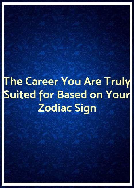 career based on astrology