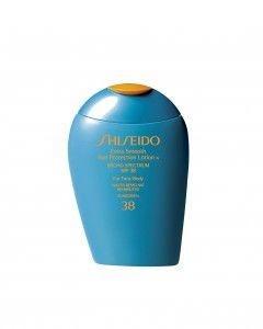 """2014 Big Day Beauty Awards: Our Skin Care Must-Haves  Shiseido Extra Smooth Lotion """"I looked my best ever on my wedding day, and I want to stay youthful-looking for as long as possible,"""" said a bride who still diligently applies this water-resistant favorite, available in SPF 38 ($34, au.shiseido.com)."""