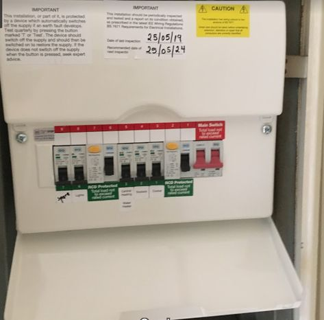 replacing old fuse box energy north ltd request your electrical installation certificate  electrical installation certificate