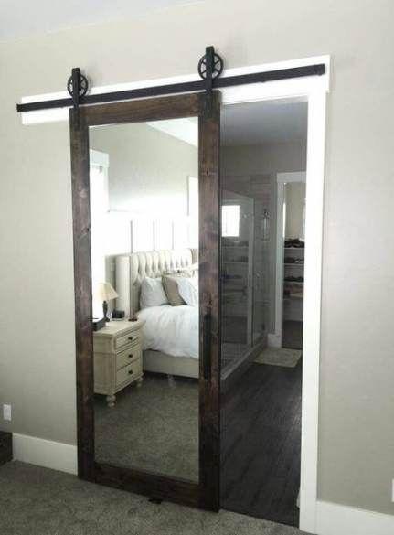 23 Trendy Barn Door In The House With Mirror Master Bedrooms Decor Bathroom Design Bedroom Design