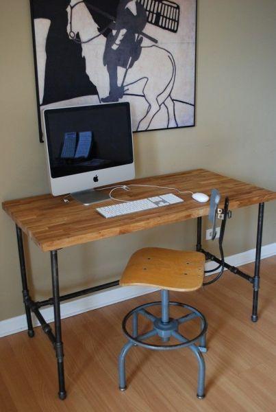 Pin On Diy Pipe Desk Ideas