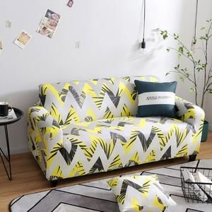 Yellow Arrows Sofa Cover With Images Sofa Covers Sofa Seat Covers For Chairs