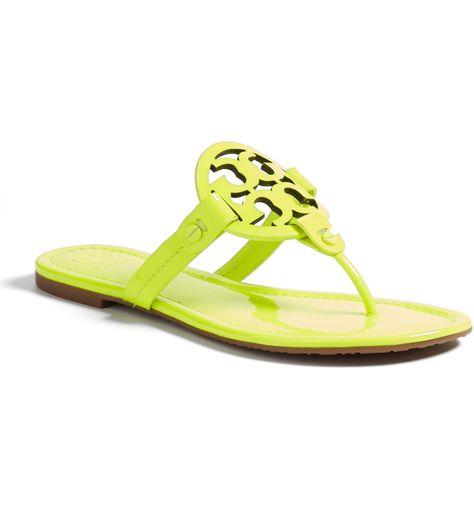 388b3808b ... netherlands tory burch miller metallic thong sandals 195.00 women  sandals pinterest sandals metallic and woman 16fd1