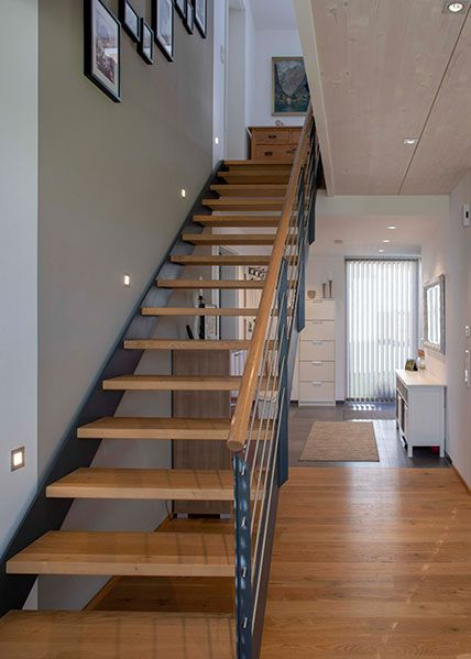 24 Treppe im wohnzimmer grundriss